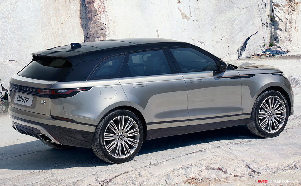 new range rover velar officially revealed. Black Bedroom Furniture Sets. Home Design Ideas