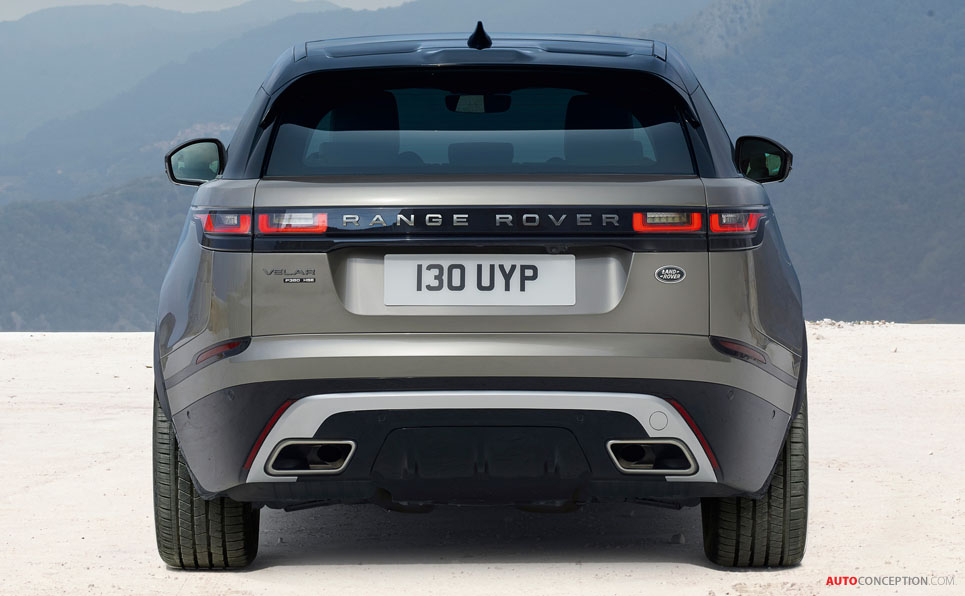 New Range Rover Velar Officially Revealed