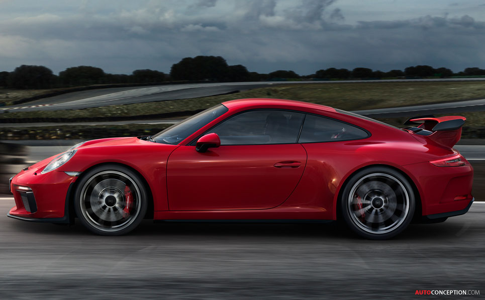 New Engine Means More Power for 2018 Porsche 911 GT3 ...