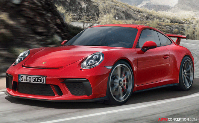 New Engine Means More Power for 2018 Porsche 911 GT3