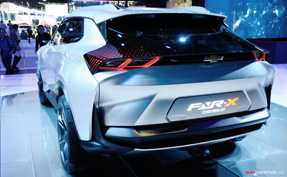 Chevrolet 'FNR-X' Concept Makes Global Debut in Shanghai
