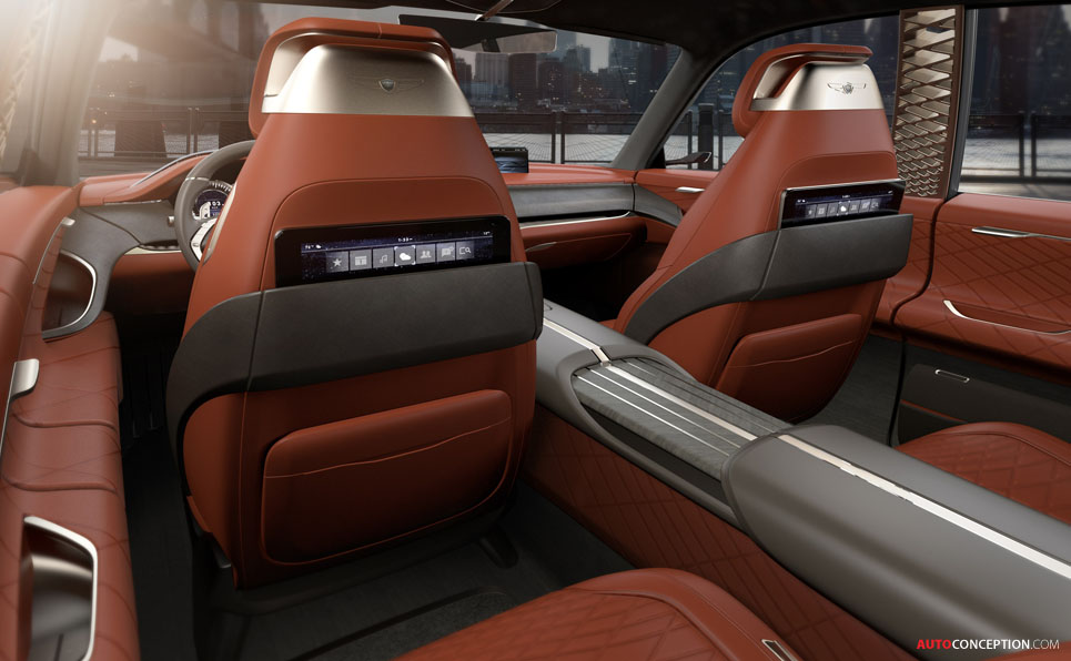 Genesis GV80 Concept SUV Revealed in New York ...