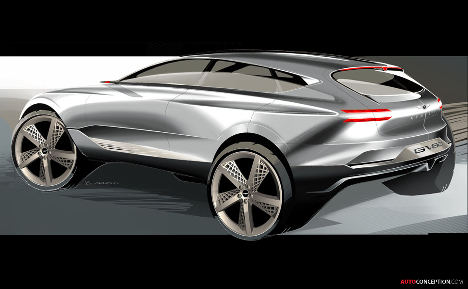 Simple Genesis GV80 Concept SUV Revealed In New York