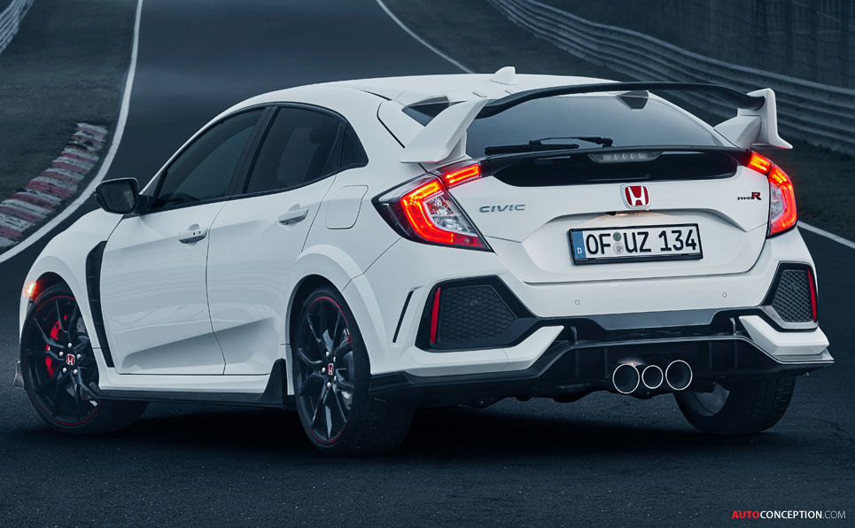 2017 honda civic type r sets new nurburgring lap record for front wheel drive cars. Black Bedroom Furniture Sets. Home Design Ideas