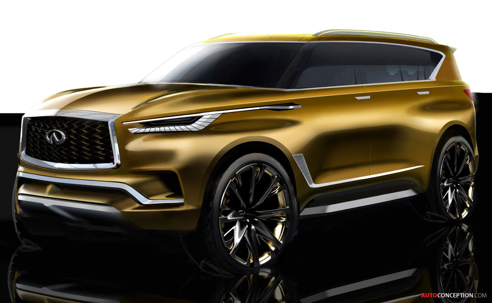infiniti qx80 monograph concept unveiled in new york. Black Bedroom Furniture Sets. Home Design Ideas