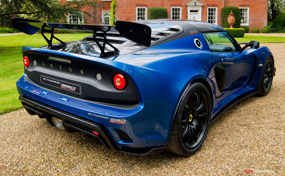 Lotus Goes Hardcore with New Exige Cup 380