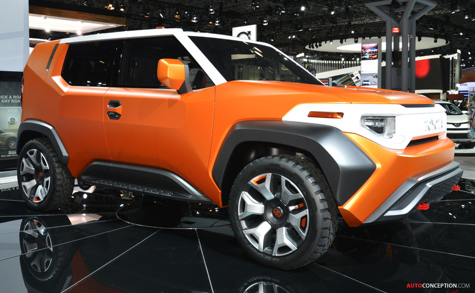 Designed for Millennials, Toyota's FT-4X Concept Is a 'Toolbox' on Wheels