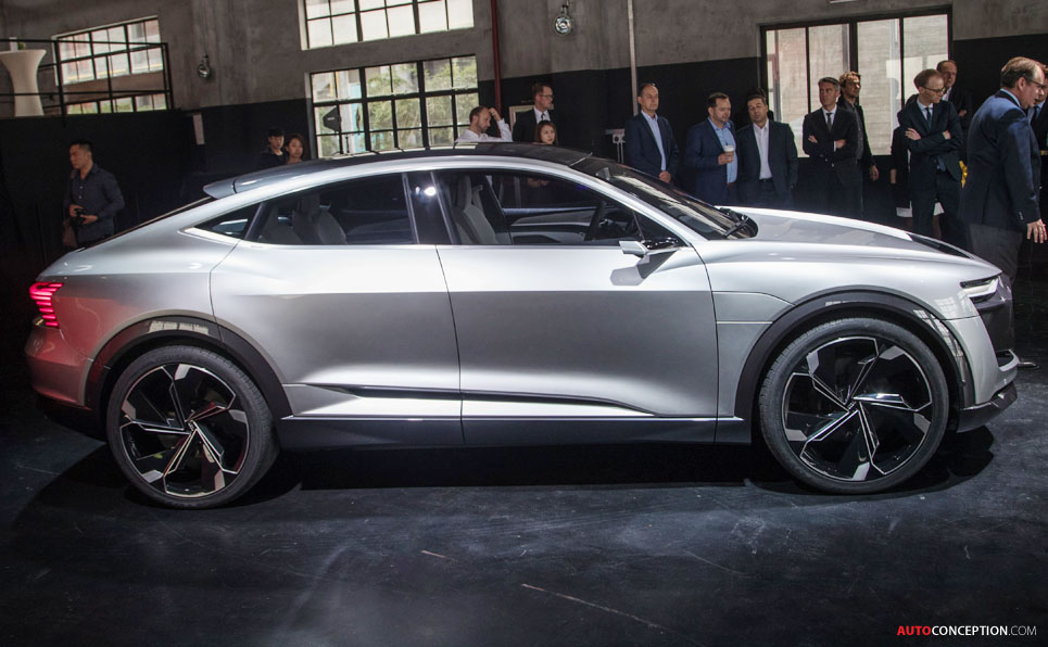 New Audi e-tron Sportback Concept Confirmed for Production