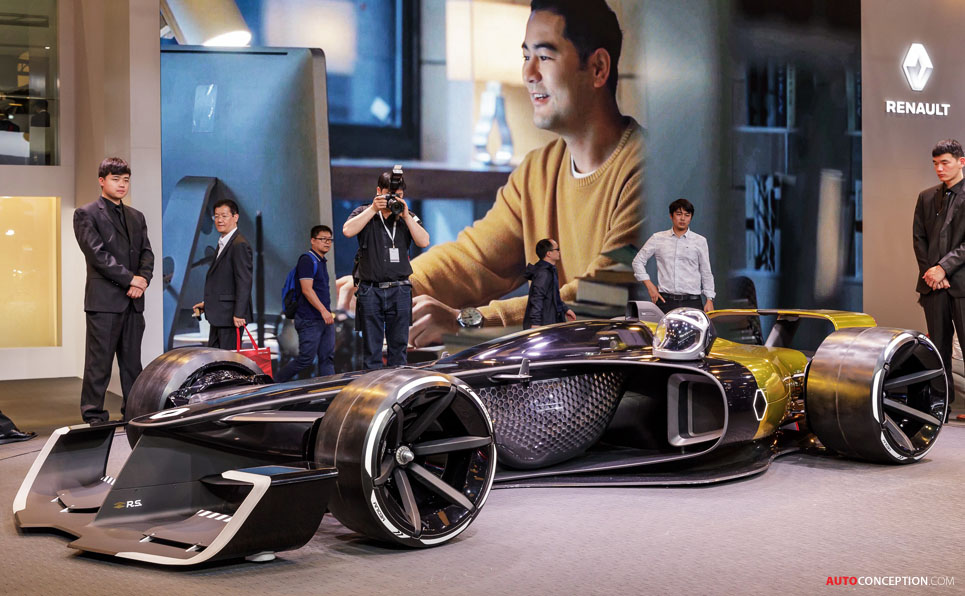 Renault 'R.S. 2027 Vision' Concept Previews F1 Racing Cars of the Future