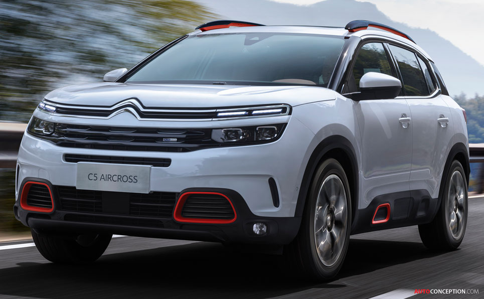 Camaro 2017 Gt >> Citroën Reveals C5 Aircross SUV - AutoConception.com