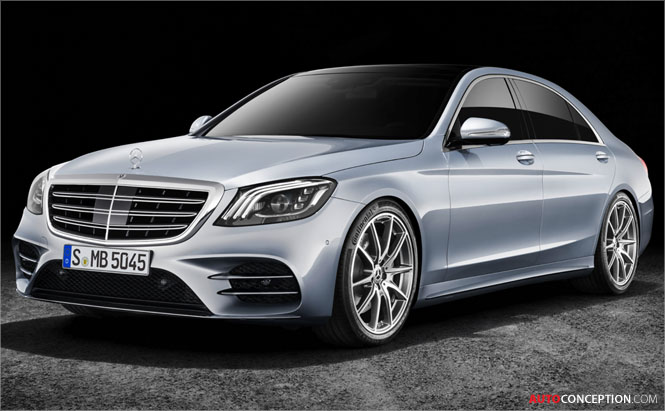 Facelifted 2018 Mercedes-Benz S-Class Makes Global Debut in China