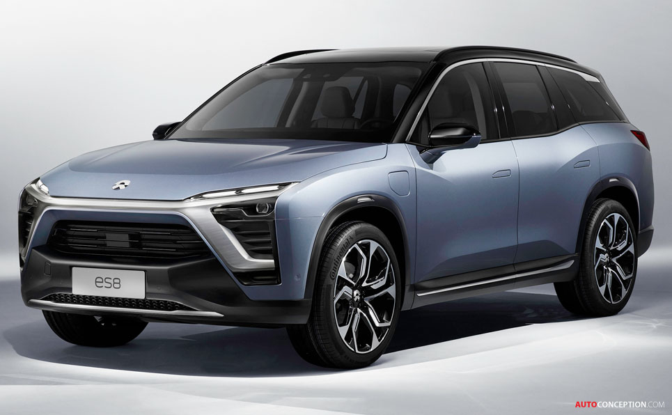 Nio Unveils New Production Electric Suv For China