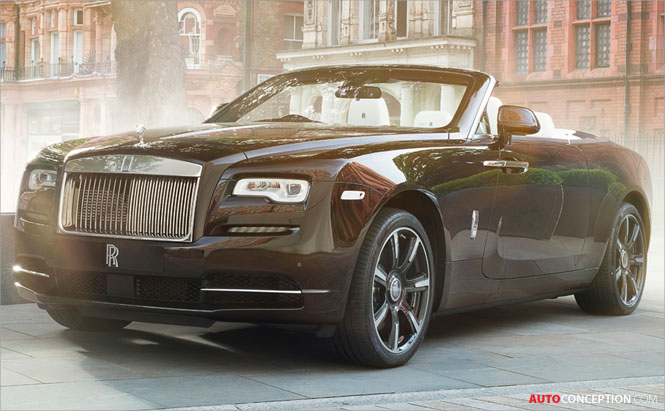 Rolls-Royce Dawn 'Mayfair Edition' Revealed