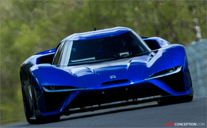 Nio Electric Hypercar Sets New Road Legal Nurburgring Lap