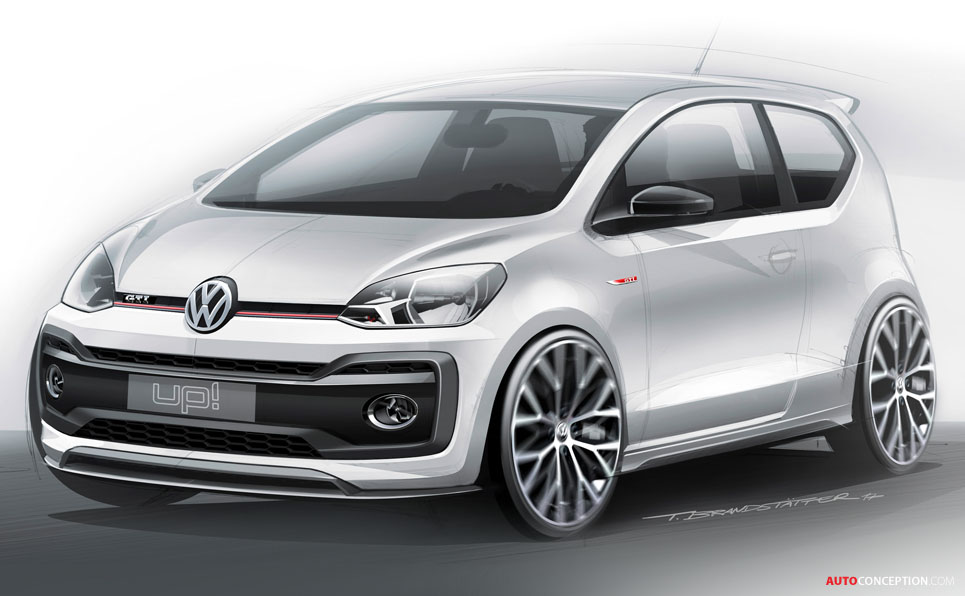 Volkswagen Up! GTI Concept Car Unveiled in Wörthersee