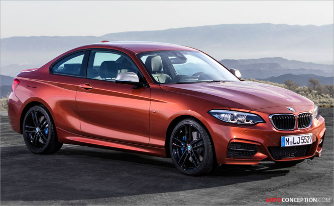 Facelifted BMW 2 Series Revealed