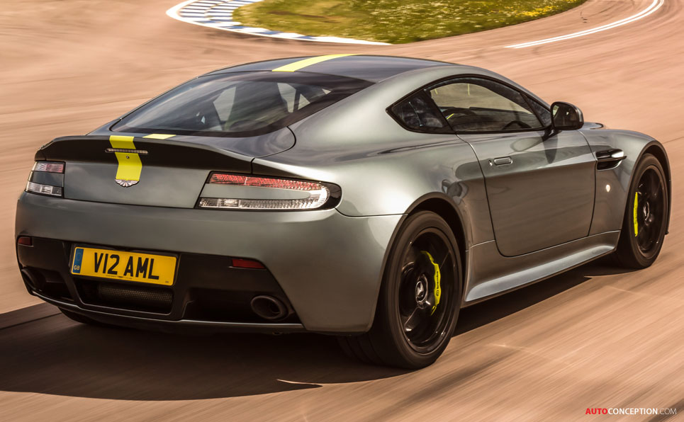 Aston Martin Launches Limited-Edition Vantage AMR
