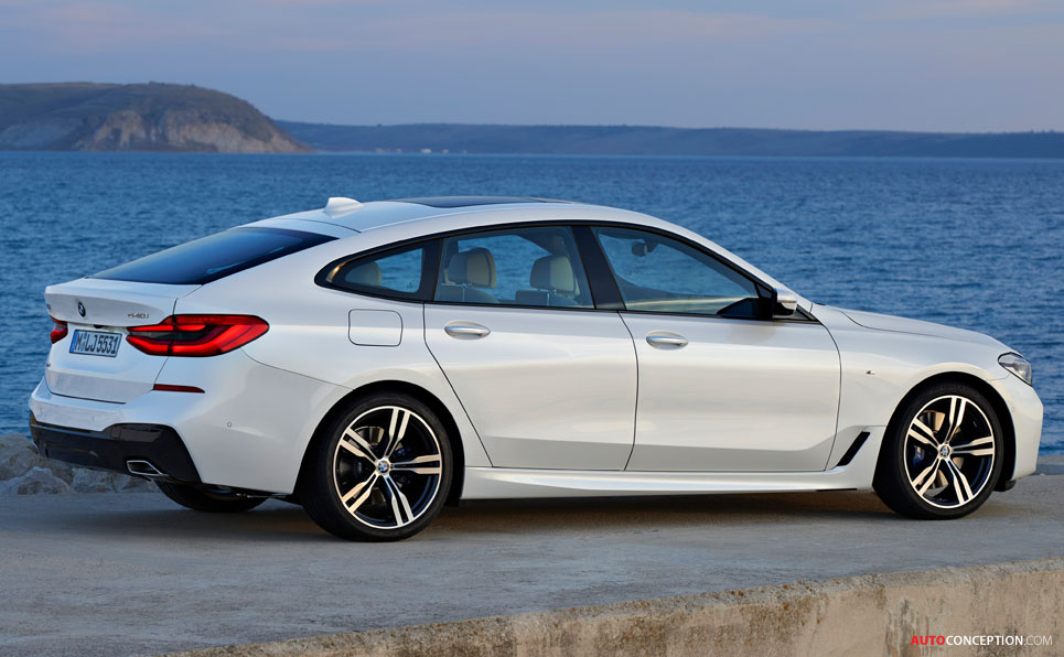bmw 6 series gt officially unveiled. Black Bedroom Furniture Sets. Home Design Ideas