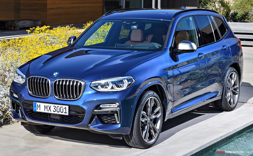 2017 bmw x3 revealed. Black Bedroom Furniture Sets. Home Design Ideas
