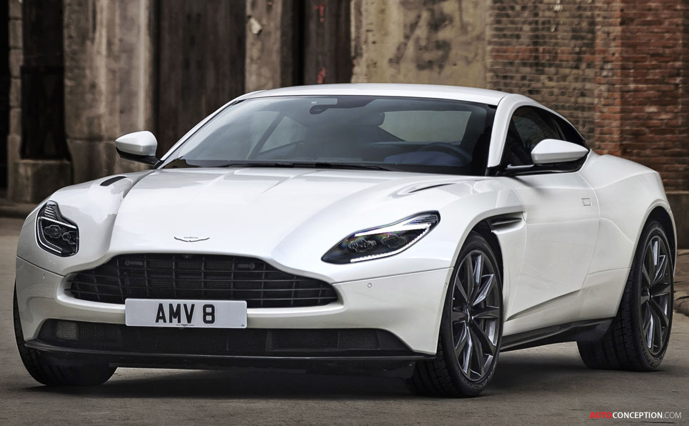 new aston martin db11 v8 unveiled. Black Bedroom Furniture Sets. Home Design Ideas