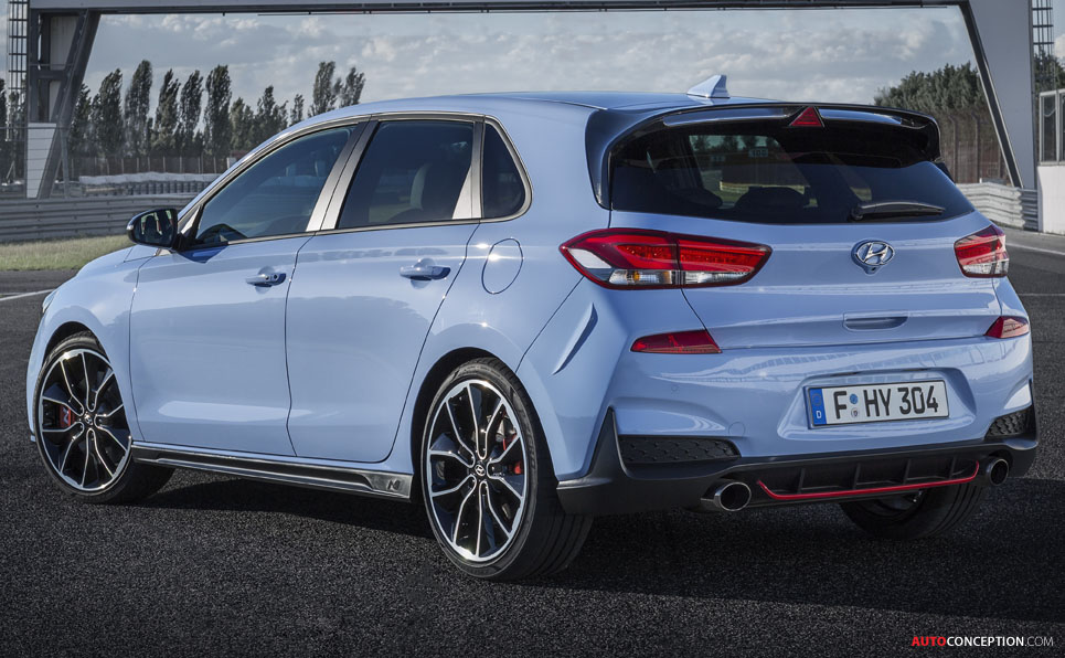 Hyundai Unveils I30n Hot Hatch Autoconception Com
