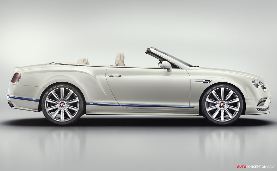 Bentley Reveals Continental GT Convertible Galene Edition by Mulliner
