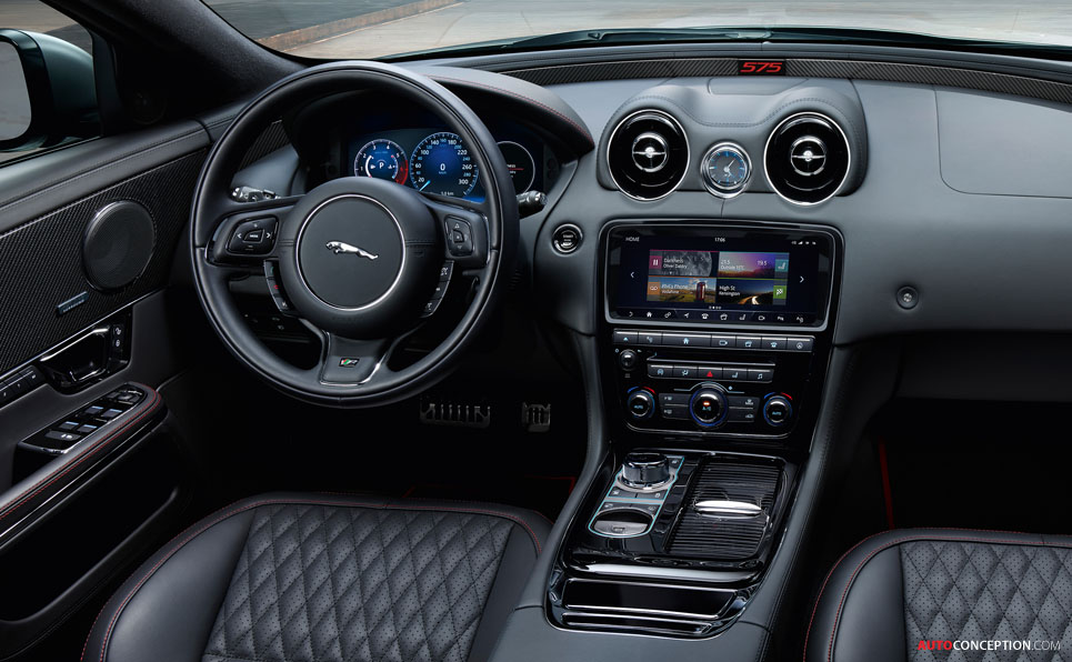 New XJR575 Becomes Jaguar's Most Powerful Production Saloon Ever