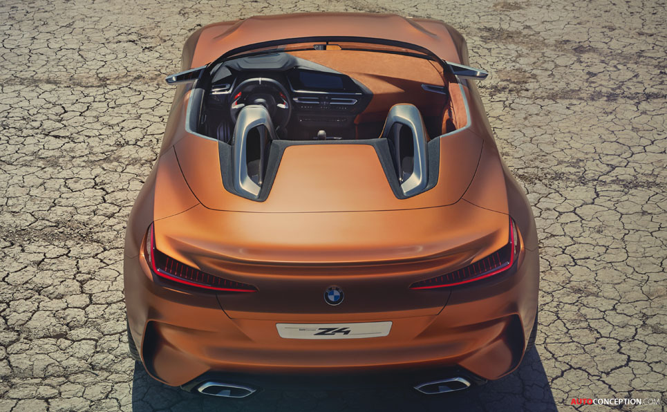 new bmw concept z4 previews forthcoming roadster. Black Bedroom Furniture Sets. Home Design Ideas