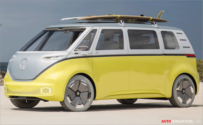 All-New Volkswagen Microbus to Follow Design of I.D. BUZZ Concept Car