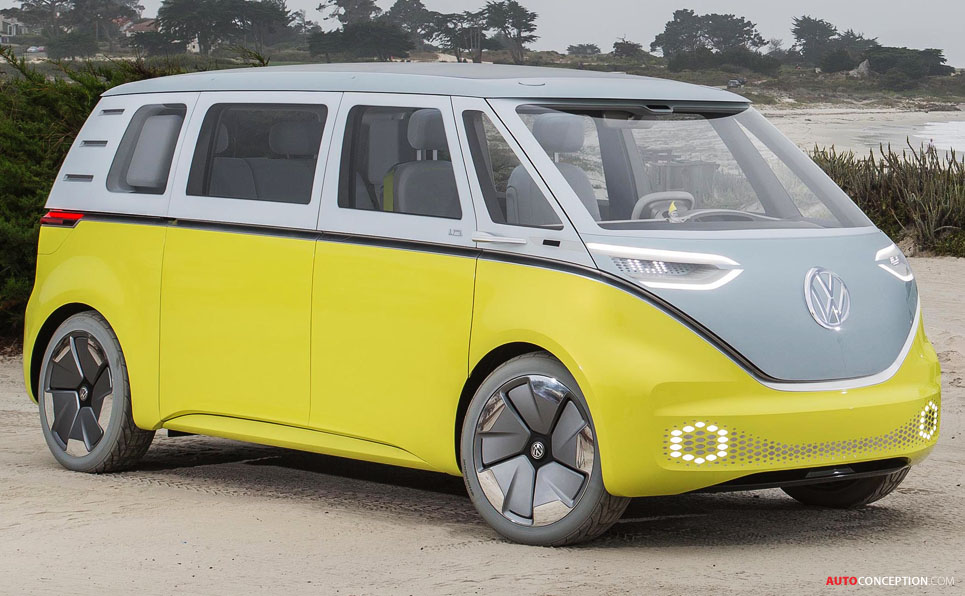 all-new volkswagen microbus to follow design of i d  buzz concept car