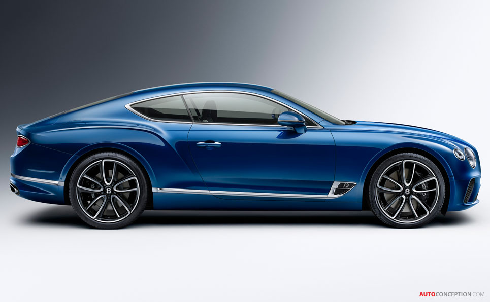 All-New Bentley Continental GT Revealed