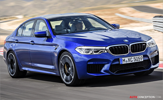 New BMW M5 Officially Unveiled