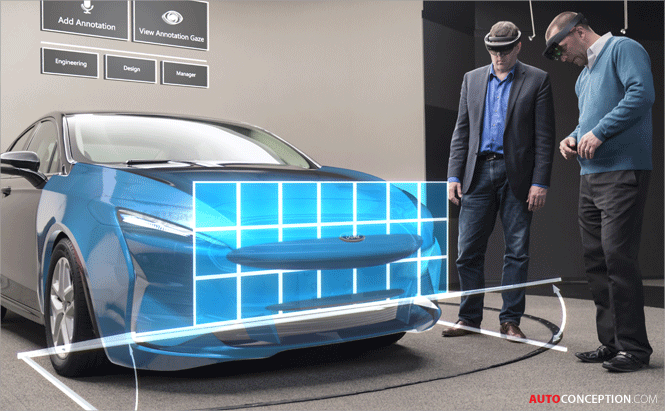 ford using holographic technology to improve car design