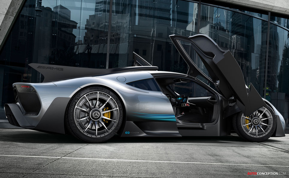 Mercedes-AMG 'Project ONE' Hypercar Officially Revealed