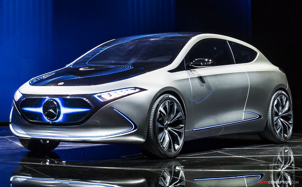 Mercedes-Benz 'Concept EQA' Previews Compact Electric Car
