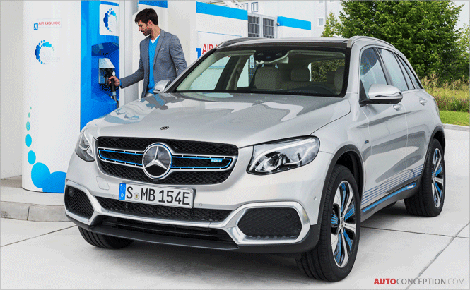 Hydrogen-Powered Mercedes-Benz 'GLC F-Cell' Close to Production