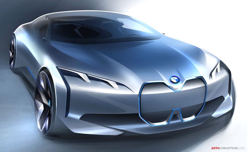 'i Vision Dynamics' Concept Hints at Electric BMW 3 Series