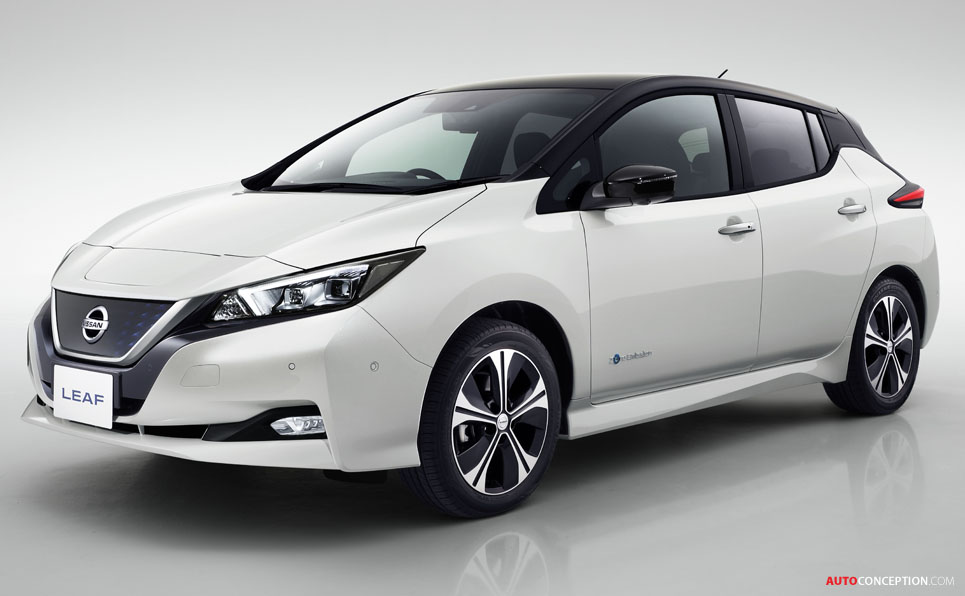 New 2018 Nissan LEAF Officially Revealed