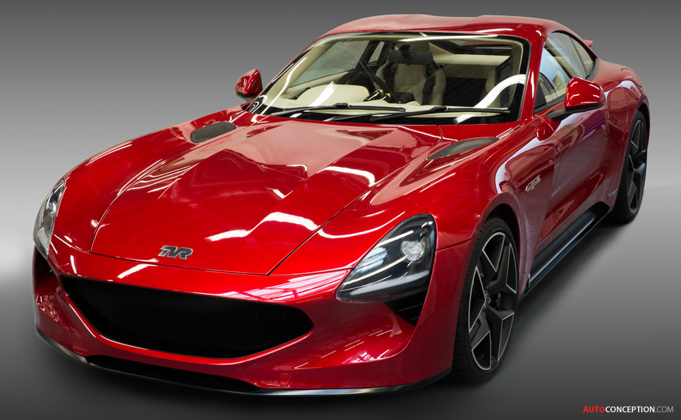New TVR Griffith Relaunches Famous British Car Mark