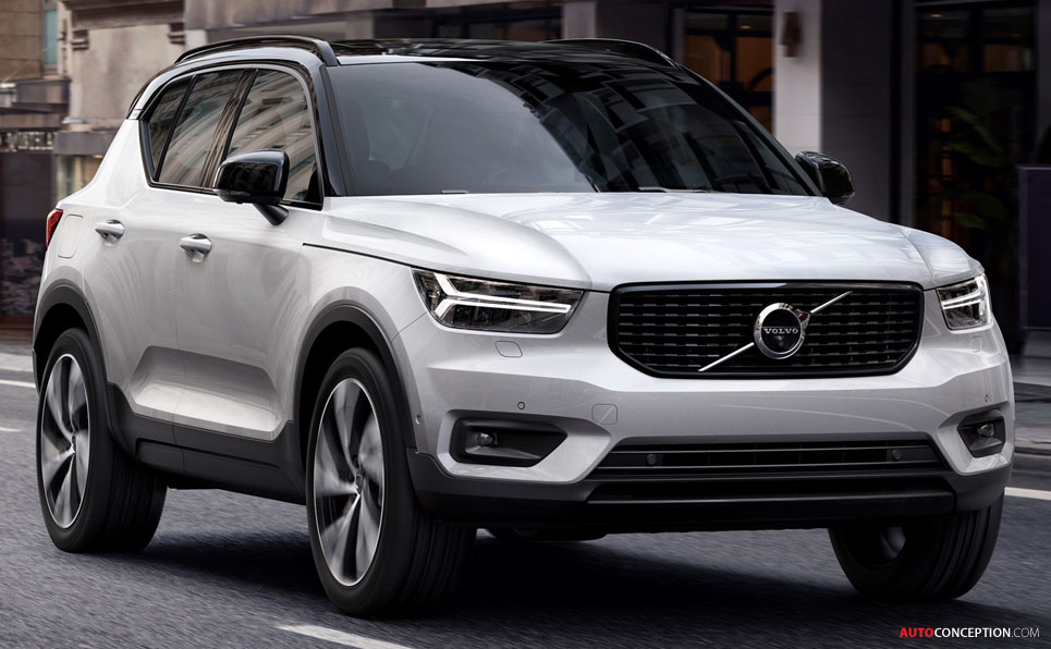 New Volvo XC40 Officially Revealed