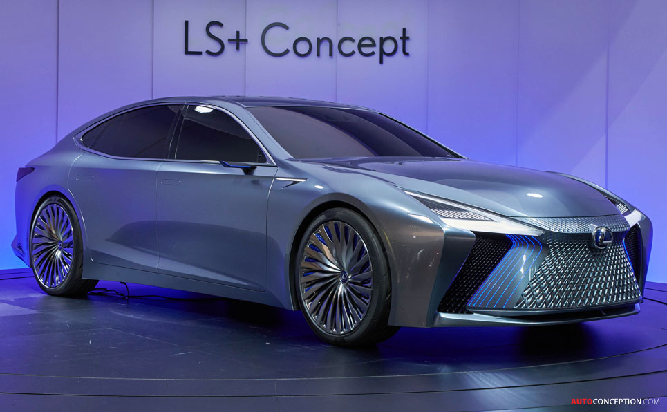 Lexus Ls Concept Previews New Autonomous Driving