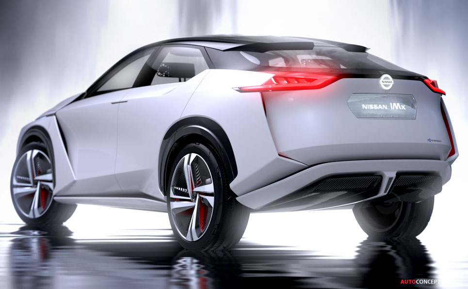 Nissan Imx Concept Points To Future Leaf Suv