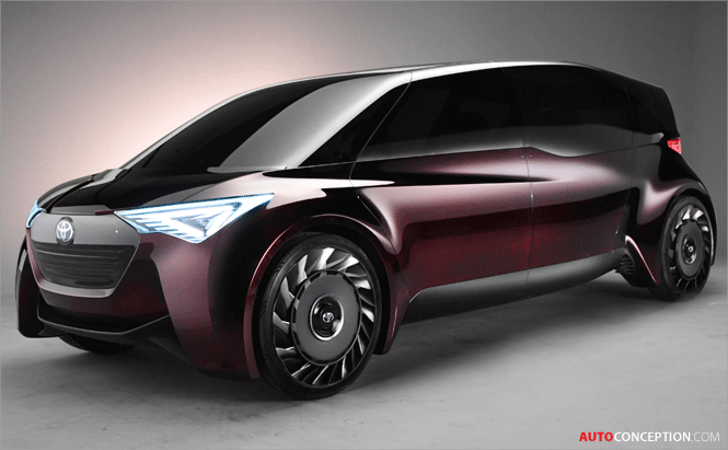 Toyota Unveils Two Fuel-Cell Concept Vehicles