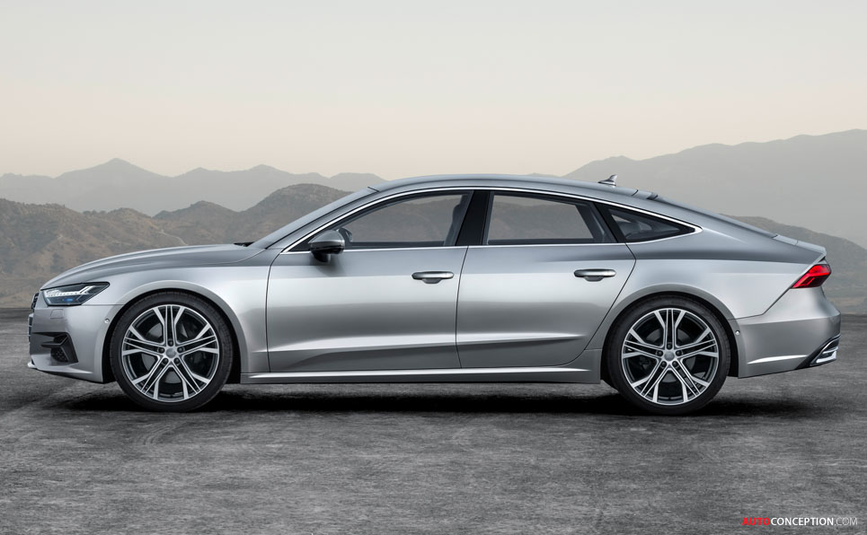 New Audi A7 Sportback Unveiled