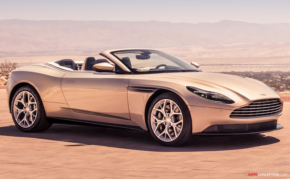 Aston Martin Db11 Volante Unveiled Autoconception Com
