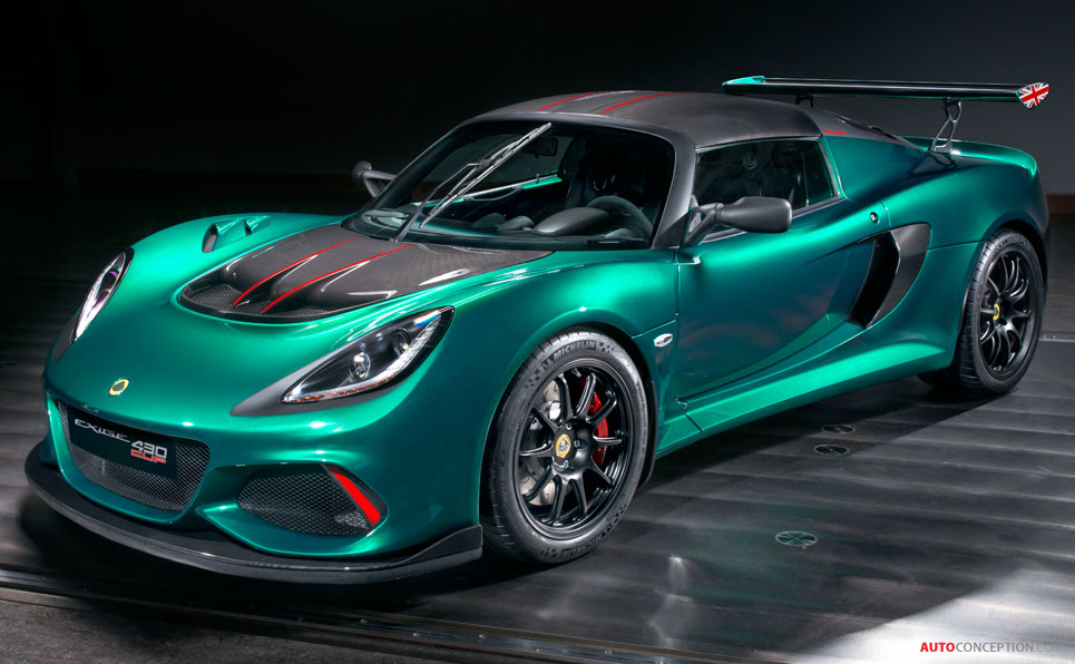 Camaro 2017 Gt >> Lotus Exige Cup 430 Is Most Extreme Exige Ever - AutoConception.com
