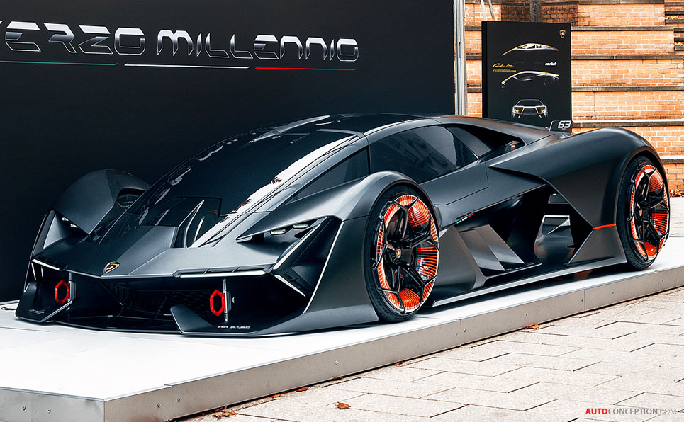 lamborghini collaborates with mit for futuristic terzo millennio concept car. Black Bedroom Furniture Sets. Home Design Ideas