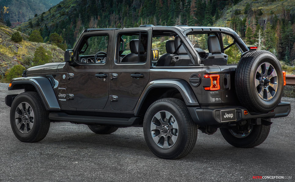 All-New 2018 Jeep Wrangler Revealed at LA Auto Show
