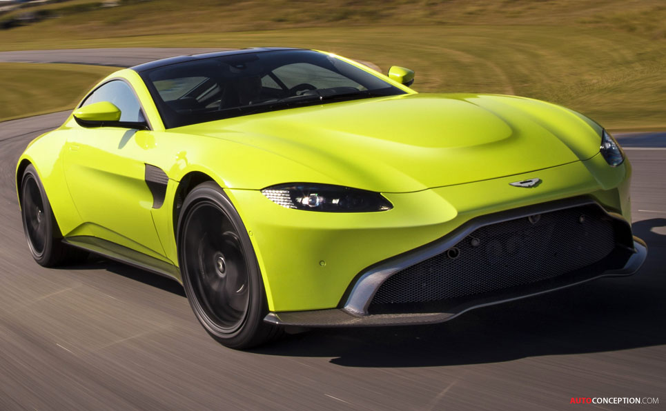 New 2018 Aston Martin Vantage Revealed - AutoConception.com