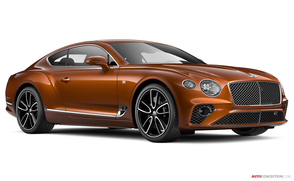 Bentley Unveils Luxurified Continental GT 'First Edition'